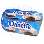 DANETTE MOUSSE LIEGEOISE 4 X 80 G CHOCOLADE